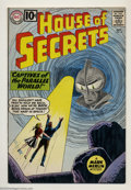 Silver Age (1956-1969):Mystery, House of Secrets #49 (DC, 1961) Condition: VF. Overstreet 2003 VF8.0 value = $64....