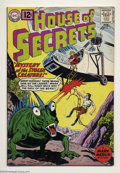 Silver Age (1956-1969):Mystery, House of Secrets #51 (DC, 1961) Condition: FN/VF. Overstreet 2003FN 6.0 value = $24; VF 8.0 value = $57....