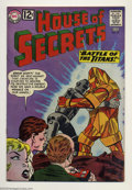 Silver Age (1956-1969):Mystery, House of Secrets #55 (DC, 1962) Condition: VF-. Overstreet 2003 VF8.0 value = $57....
