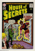 Silver Age (1956-1969):Mystery, House of Secrets #56 (DC, 1962) Condition: VF-. Overstreet 2003 VF8.0 value = $57....