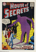 Silver Age (1956-1969):Mystery, House of Secrets #57 (DC, 1962) Overstreet 2003 Condition: VF-.Overstreet 2003 VF 8.0 value = $57....