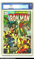 Bronze Age (1970-1979):Superhero, Iron Man #27 (Marvel, 1970) CGC NM 9.4 Cream to off-white pages. Don Heck art. Just one other copy of issue #27 has received...