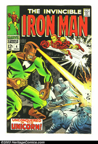 Iron Man #4 and 5 Group (Marvel, 1968) Condition: Average FN+. George Tuska and Johnny Craig art. Overstreet 2003 value...