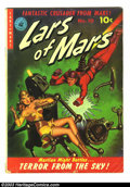 Golden Age (1938-1955):Science Fiction, Lars of Mars #10 (Ziff-Davis, 1951) Condition: GD/VG. Classicpainted robot cover. Origin of Lars of Mars. Murphy Anderson a...