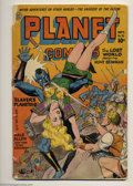 Golden Age (1938-1955):Science Fiction, Planet Comics #32 (Fiction House, 1944) Condition: FR/GD. Complete but cover and centerfold detached. Overstreet GD 2.0 valu...