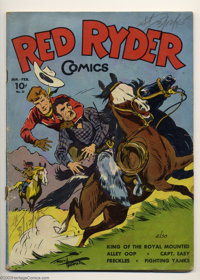 Red Ryder Comics #23 (Dell, 1945) Condition: GD/VG. Overstreet 2003 GD 2.0 value = $16; VG 4.0 value = $32
