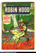 Silver Age (1956-1969):Adventure, Robin Hood Tales #8 (DC, 1957) Condition: VG-. Ross Andru and Mike Esposito art. Overstreet 2003 VG 4.0 value = $70....