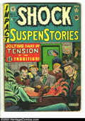Golden Age (1938-1955):Horror, Shock SuspenStories #1 (EC, 1952) Condition: GD/VG. Classic AlFeldstein electrocution cover. Overstreet 2003 GD 2.0 value =...