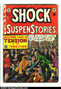 Golden Age (1938-1955):Horror, Shock SuspenStories #2 (EC, 1952) Condition: GD+. There is a pieceof tape on the inside front cover. Overstreet 2003 GD 2.0...