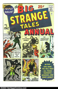 Strange Tales Annual #1 (Marvel, 1962) Condition: GD/VG. Pre-hero monster stories. Possibly the first Marvel annual. Ove...