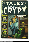 Golden Age (1938-1955):Horror, Tales From the Crypt #23 (EC, 1951) Condition: VG+. Al Feldsteinartwork. This book is actually the fourth issue of this tit...