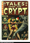 Golden Age (1938-1955):Horror, Tales From the Crypt #41 (EC, 1954) Condition: GD. George Evans andJack Kamen artwork. There are three pieces of tape on th...