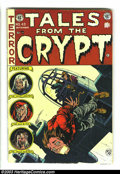 Golden Age (1938-1955):Horror, Tales From the Crypt #43 (EC, 1954) Condition: VG. Jack Kamen andJack Davis both have stories in this issue. Overstreet 200...