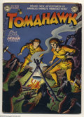 Golden Age (1938-1955):Adventure, Tomahawk #1 (DC, 1950) Condition: GD+. Fred Ray artwork. Overstreet GD 2.0 value = $161....
