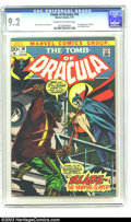 Bronze Age (1970-1979):Horror, Tomb of Dracula #10 (Marvel, 1973) CGC NM- 9.2 Cream to off-whitepages. First appearance of Blade the Vampire Slayer. Overs...