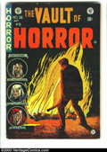 "Golden Age (1938-1955):Horror, Vault of Horror #36 (EC, 1954) Condition: GD/VG. This issuefeatures the classic opium addict story, ""Pipe Dream"" by Bernard..."