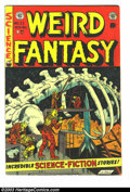 Golden Age (1938-1955):Science Fiction, Weird Fantasy #22 (EC, 1953) Condition: VG+. Ray Bradburyadaptation. Reed Crandall, Jack Kamen and Bernard Krigstein art.O...