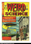 Golden Age (1938-1955):Horror, Weird Science 13 (#2) (EC, 1950) Condition: GD+. Al Feldsteinflying saucer cover. Interior art by Feldstein, Jack Kamen, an...
