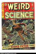 Golden Age (1938-1955):Science Fiction, Weird Science #12 (EC, 1952) Condition: GD+. Wally Wood cover, plusinterior art by Wood, Jack Kamen, and Reed Crandall. Ove...