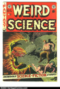 Golden Age (1938-1955):Science Fiction, Weird Science #21 (EC, 1953) Condition: VG. Wally Wood, FrankFrazetta and Al Williamson art. Gaines and Feldstein appear in...