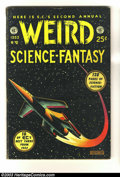 Golden Age (1938-1955):Science Fiction, Weird Science-Fantasy Annual #2 (EC, 1953) Condition: Apparent VG.This 128 page square bound giant contains four random reb...