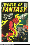 Silver Age (1956-1969):Horror, World Of Fantasy #19 (Atlas, 1958) Condition: VG+. Jack Kirby andSteve Ditko artwork. Overstreet 2003 VG 4.0 value = $50. ...