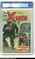 Silver Age (1956-1969):Superhero, X-Men #40 (Marvel, 1968) CGC NM 9.4 Off-white pages. Don Heck and George Tuska Art. Marvel's merry mutants meet Frankenstein...