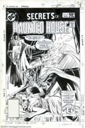 Original Comic Art:Covers, Rich Buckler and Dick Giordano - Original Cover Art for Secrets ofHaunted House #39 (DC, 1981). The King of the Vampires de...