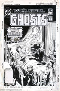 Original Comic Art:Covers, Rich Buckler and Dick Giordano - Original Cover Art for Ghosts #103(DC, 1981)....