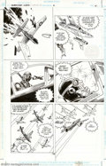 Original Comic Art:Panel Pages, Russ Heath - Original Art for Enemy Ace: War in Heaven #2, pages18, 19, and 35 (DC, 2001). Spectacular air battles dominate...