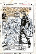 Original Comic Art:Covers, Larry Lieber - Original Cover Art for Rawhide Kid #80 (Marvel,1970). Did the Rawhide Kid gun down an unarmed man? You had t...