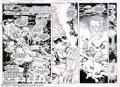 Original Comic Art:Miscellaneous, Production Art for Fury of Firestorm #1, pages 2 and 3 (DC, 1982).Firestorm tries sleeping on a cloud, but discovers -- the...