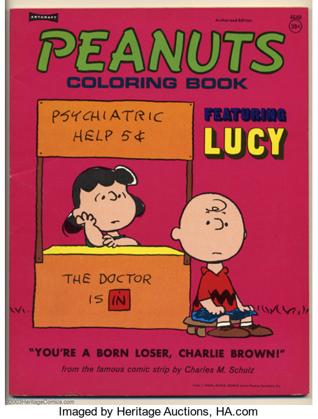 Peanuts Coloring books (Saalfield Publishing, undated) | Lot #17255 ...