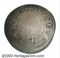 1652 SHILNG Oak Tree Shilling Fine 12 PCGS. Noe-10, Crosby 6a-E1, R.6. 73.3 grains. This variety is always seen with a v...