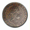 Colonials: , 1724 1/2P Hibernia Halfpenny MS62 Brown PCGS. Period ...