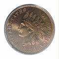 Proof Indian Cents: , 1885 1C PR68 Red and Brown PCGS. A spectacular, deeply ...