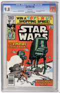 Modern Age (1980-Present):Science Fiction, Star Wars #40 (Marvel, 1980) CGC NM/MT 9.8 White pages. ...