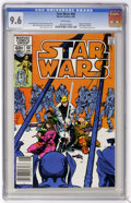Modern Age (1980-Present):Science Fiction, Star Wars #60 (Marvel, 1982) CGC NM+ 9.6 White pages. WalterSimonson cover and art. Overstreet 2005 NM- 9.2 value = $9. CGC...