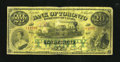 Canadian Currency: , Toronto, ON- Bank of Toronto $20 Feb. 1 1923 Ch. 715-22-60. Thepopular train vignette is seen on this piece which is lightl...