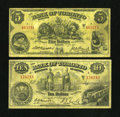 Canadian Currency: , Toronto, ON- Bank of Toronto $5 Jan. 2 1937 Ch. 715-22-60. Toronto, ON- Bank of Toronto $10 Jan. 2, 1935 Ch. 715-24-10. ... (Total: 2 notes)