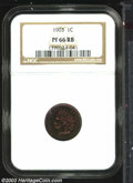 Proof Indian Cents: , 1903 1C PR66 Red and Brown NGC. This is an awesome ...