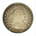 Early Dimes: , 1796 10C VF20 PCGS. JR-1, R.3. The retained cud at star 1 ...