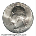 Washington Quarters: , 1934-D 25C MS66 PCGS. Lustrous and lightly toned on the ...