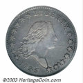 Early Half Dollars: , 1795 50C 2 Leaves VF25 PCGS. O-129a, R.4. This variety is ...
