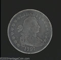 Early Half Dollars: , 1797 50C Good 4 Repaired Uncertified. O-101a, R.5. This ...