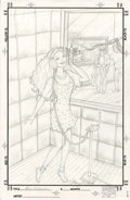 Original Comic Art:Covers, Mary Wilshire - Barbie Unpublished Cover Sketch Original Art(undated)....