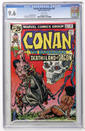 Bronze Age (1970-1979):Miscellaneous, Conan the Barbarian #62 (Marvel, 1976) CGC NM+ 9.6 White pages....