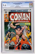 Bronze Age (1970-1979):Miscellaneous, Conan the Barbarian #65 (Marvel, 1976) CGC NM+ 9.6 White pages....