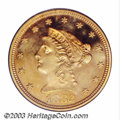 Proof Liberty Quarter Eagles: , 1882 $2 1/2 PR63 Deep Cameo PCGS. The 1882 Quarter Eagle ...