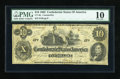 Confederate Notes:1862 Issues, CT46 $10 1862.. ...